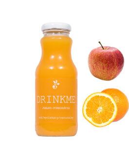 Sok jabłko pomarańcza DRINKME 250ml
