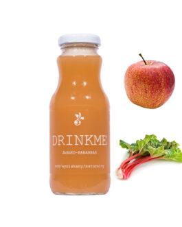 Sok jabłko-rabarbar DRINKME 250ml