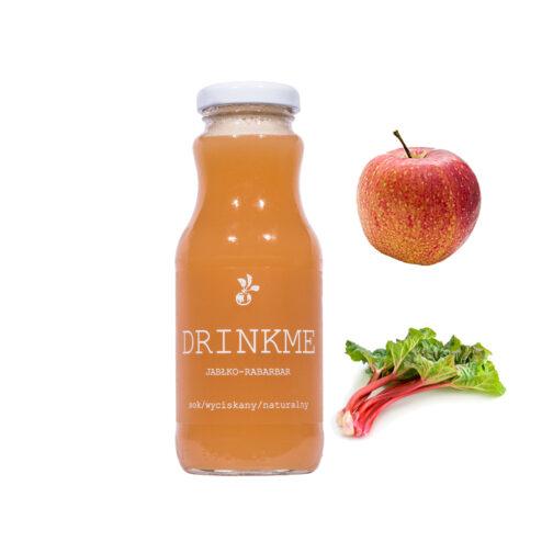 Sok jabłko rabarbar DRINKME 250ml