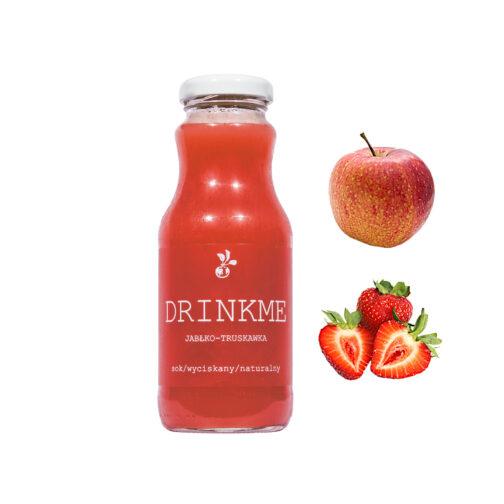 Sok jabłko truskawka DRINKME 250ml