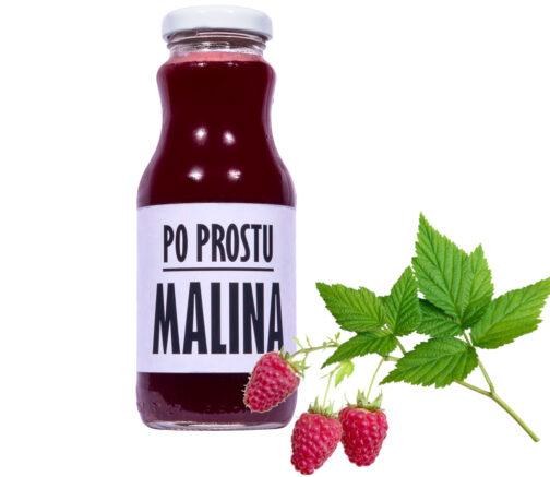 sok z malin Po Prostu MALINA 100% 250ml