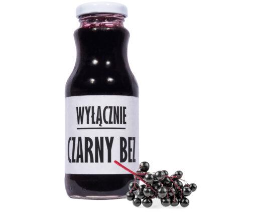 sok z czarnego bzu Wyłącznie CZARNY BEZ 100% 250ml