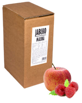 Sok jabłko-malina bag in box 5L