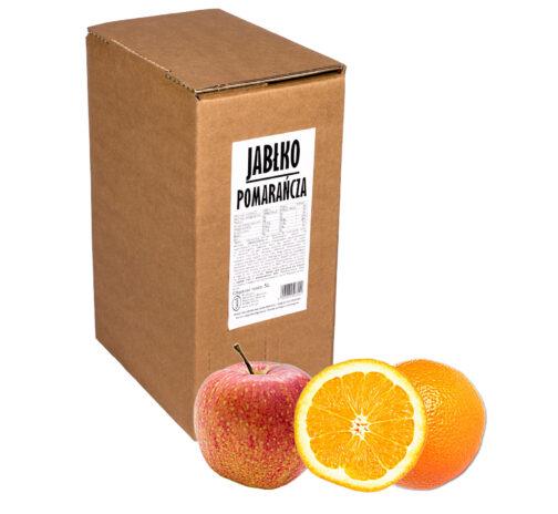 Sok jabłko pomarańcza 100% 5L