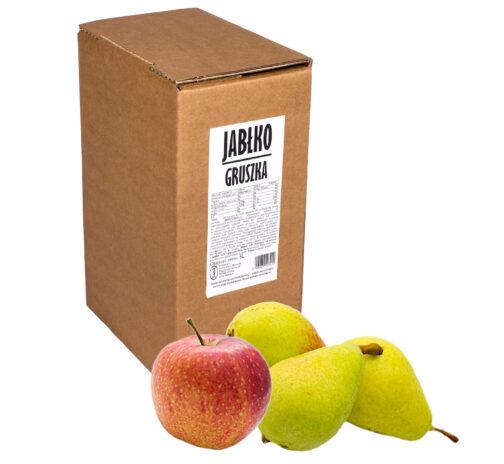 Sok jabłko gruszka 100% 5L