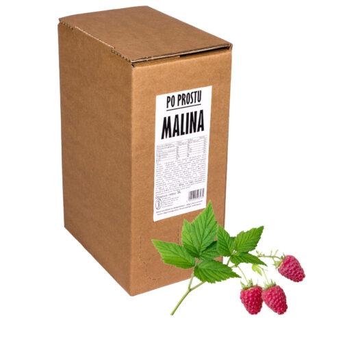Sok z malin Po Prostu MALINA 100% 5L