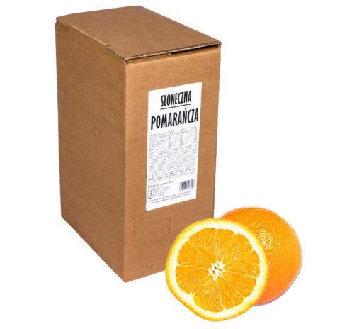Sok pomarańczowy Słoneczna POMARAŃCZA 100% 5L