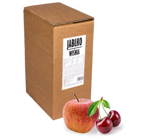 Sok jabłko wiśnia 100% 5L