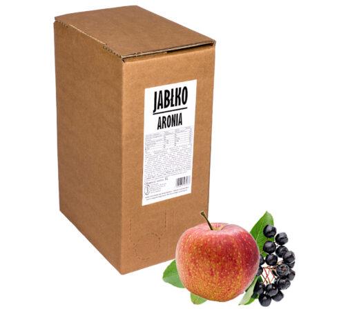 Sok jabłko aronia 100% 5L