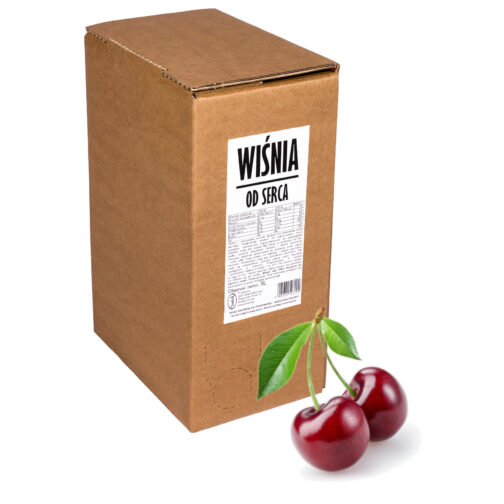 Sok wiśniowy WIŚNIA Od Serca 100% 5L