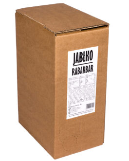 Sok jabłko-rabarbar bag in box 5L