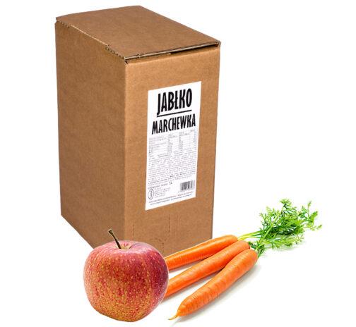 Sok jabłko marchewka 100% 5L