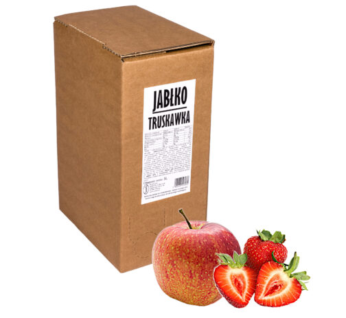 Sok jabłko truskawka 100% 5L