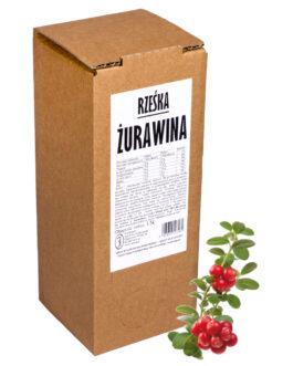 rześka ŻURAWINA 1,5L – sok 100%