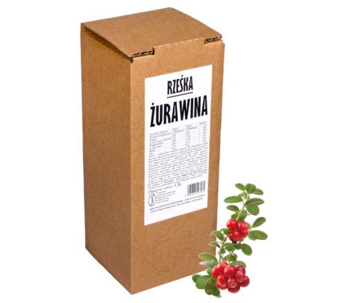 Sok z żurawiny Rześka ŻURAWINA 100% 1,5L