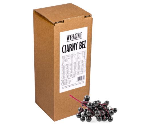 Sok z czarnego bzu Wyłącznie CZARNY BEZ 100% 1,5L