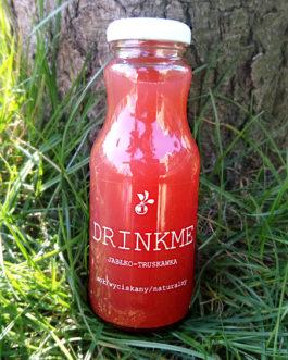 Sok jabłko-truskawka DRINKME 250ml