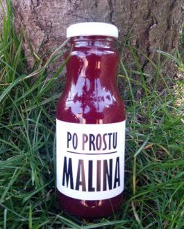 po prostu MALINA 250ml – sok 100%