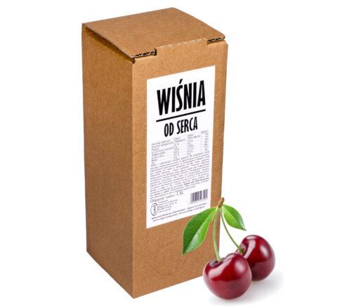 Sok z wiśni WIŚNIA od serca 100% 1,5L