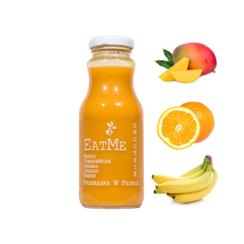 Smoothie mus owocowy EatMe Pomarańczowe 250ml