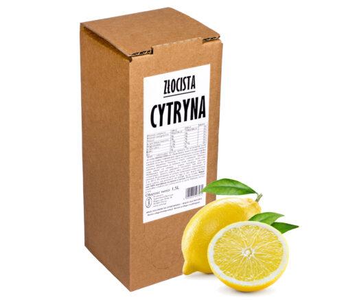 Sok z cytryny Złocista Cytryna 100% 1,5L