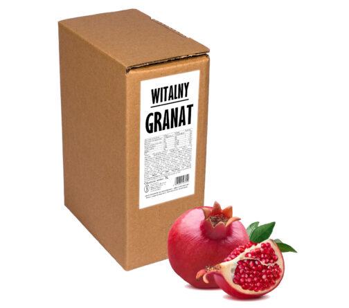 Sok z granatu Witalny GRANAT 100% 3L