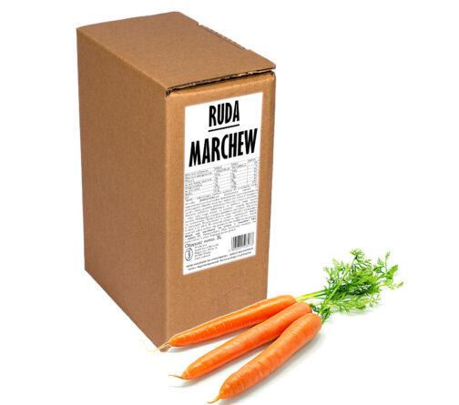 Sok z marchwi Ruda MARCHEW 100% 3L