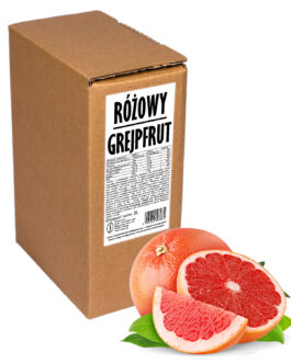 Sok z grejpfruta Różowy GREJPFRUT 100% 3L
